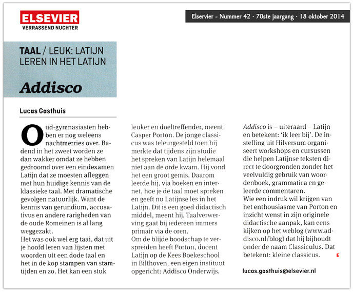 Elsevier - Addisco
